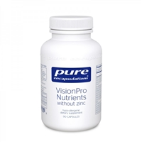 VisionPro Nutrients (without zinc) by Pure Encapsulations
