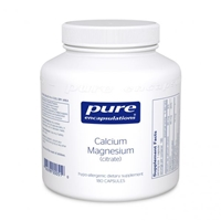 Calcium Magnesium(Citrate) by Pure Encapsulations