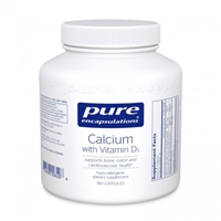 Calcium With Vitamin D3 180ct by Pure Encapsulations