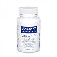 Vitamin D3 10,000 iu by Pure Encapsulations