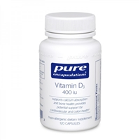 Vitamin D3 400 iu by Pure Encapsulations