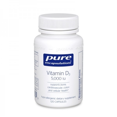Vitamin D3 5,000 iu by Pure Encapsulations