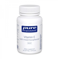 Vitamin E (with mixed tocopherols) by Pure Encapsulations