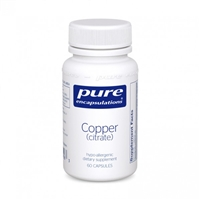 Copper (Citrate) 60ct by Pure Encapsulations