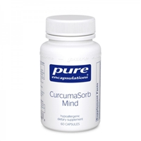 CurcumaSorb Mind 60ct by Pure Encapsulations