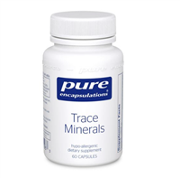 Trace Minerals by Pure Encapsulations (60 Capsules)