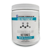 Extracellular Ketones by Systemic Formulas