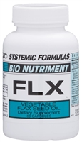 FLX Veg. Flax Seed Oil by Systemic Formulas