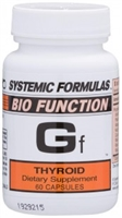 Gf Thyroid by Systemic Formulas