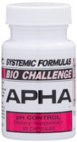 APHA pH Control by Systemic Formulas