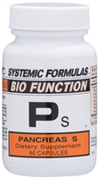 Ps Pancreas S by Systemic Formulas