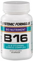 B16 Vitamin B Stress Complex by Systemic Formulas