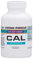 CAL Calcium Plus by Systemic Formulas