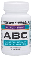 ABC  Probiotic by Systemic Formulas