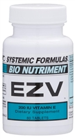 EZV-200 I.U. VITAMIN E by Systemic Formulas