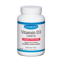 Vitamin D3 Chewable by EuroMedica