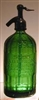 La Union Green Vintage Seltzer Bottle