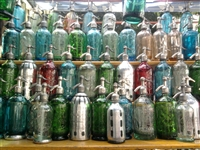 Assorted One of a Kind Seltzer Bottles