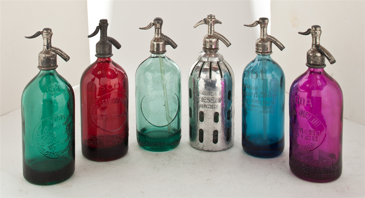 Collection I Vintage Seltzer Bottles