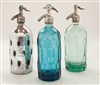 Collection VII Vintage Seltzer Bottles