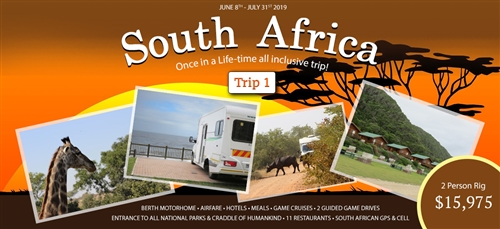 South Africa 2019 - Trip 1