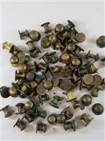 MAUSER 98K RIFLE BRASS BUTTON FOR SLING