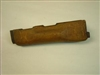 EAST GERMAN AK47/AKM LOWER WOOD HAND-GUARD USED CONDITION.