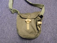HUNGARIAN AK47 MAGAZINE DRUM POUCH WITH STRAP