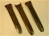 "SUPER SALE! SET OF 3 US M7 SCABBARDS WITH METAL TIP GRADE II SOLD ""AS IS"" ONLY $ 39.95 FOR 3 PCS."
