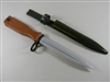 "CLEARANCE! CHINESE ARMY T-81 RUBBER TRAINING BAYONET BROKEN SOLD ""AS IS"""