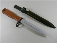 CLEARANCE! CHINESE ARMY T-81 RUBBER TRAINING BAYONET