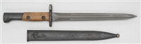 BELGIAN FN-49 BAYONET WITH SCABBARD