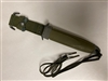 US GI M8A1 SCABBARD LIKE NEW CONDITION.