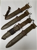 "US GI WWII M8 SCABBARD USED SOLD ""AS IS""."