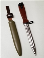 CHINESE AK 47 T-81 BAYONET WITH SCABBARD