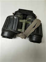 "EAST GERMAN VOPO 7X40 BINOCULARS MARKED ""NVA""."