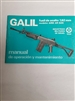 "GALIL SAR CAL 308 RIFLE BOOKLET. ORIGINAL ""IMI""."