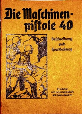 MP40 SMG MACHINEN PISTOLE PAMPHLET