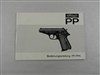 WALTHER PP/PPK BOOKLET