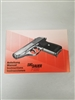 PISTOL SIG SAUER P230 MANUAL INSTRUCTIONS