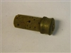 BRITISH PRE-1900 CORK AND BRASS PLUG FOR SHOTGUN