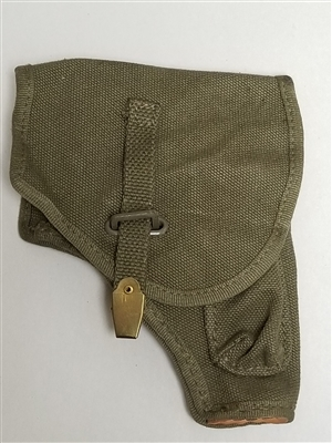 ITALIAN ARMY BERETTA 34-35 OD CANVAS HOLSTER