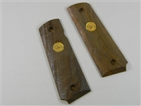 COLT 45 WOOD GRIPS WITH LOGO