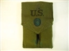 COLT 45 MAGAZINE POUCH OD COLORED 1950'S DATED. NEW GI
