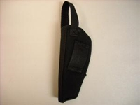 BLACK CORDURAS HOLSTER FOR REVOLVER 4""