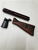 GERMAN ARMY SURPLUS HK 91/G3 RIFLE WOOD STOCK SET