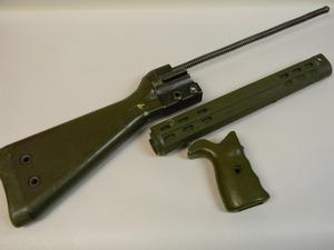 HK 91/G3 RIFLE OD PLASTIC STOCK SET