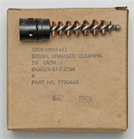 M14 CHAMBER CLEANING BRUSH NEW US GI IN BOX OF 10