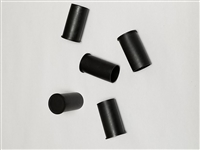 AR15-M16 PLASTIC MUZZLE CAPS. SET OF 5 PIECES.