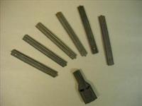 AR15-M16 STRIPPER CLIPS SET. 6 CLIPS + 1 GUIDE
